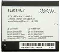 Alcatel 4024 (TLi014C7) 1400mAh li-ion, оригинал